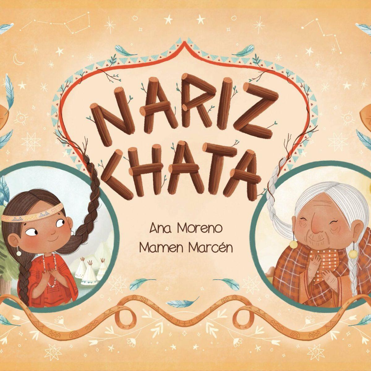 Portada Nariz Chata Ana Moreno